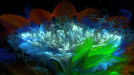 Заставки цветок, лепестки, свет, листья
