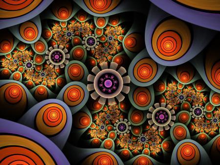 Заставки цвет, свет, узор, цветы