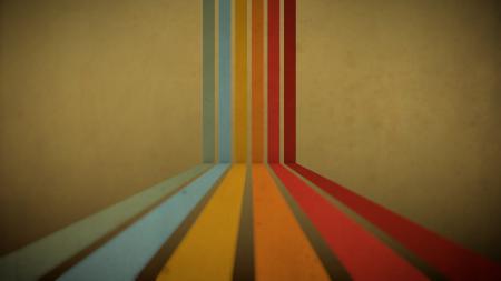 Заставки абстракция, радуга, краски, полосы