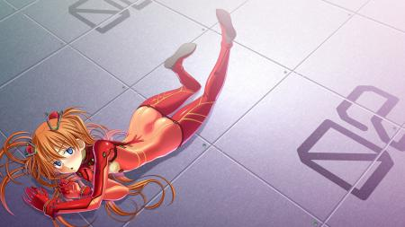 Обои evangelion, anime, asuka