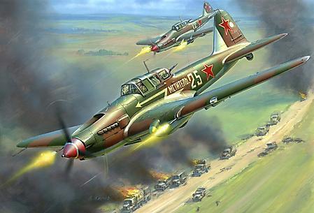 Заставки Ил-2, советский штурмовик, Великая Отечественная война, конструктор С.В.Ильюшин