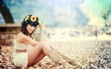 Фотографии Modelo, Almudena Navarro, Happy