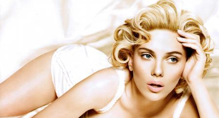 Обои scarlett johansson, скарлетт йоханссон, актриса, блондинка