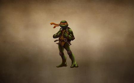 Фото TMNT, Teenage Mutant Ninja Turtles, черепашки ниндзя, Микеланджело