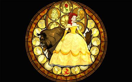 Обои Disney, Beauty and The Beast, Дисней, Красавица и Чудовище