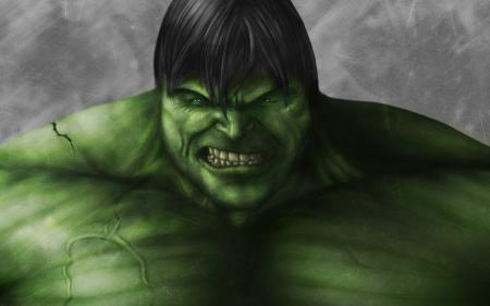 Обои Невероятный Халк, The Incredible Hulk, зеленый, злой