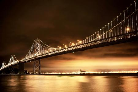 Заставки San Francisco, Bay Bridge, Oakland, California