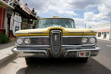 Фотографии Route 66, Vintage Taxi, Will Rogers Highway, Америка