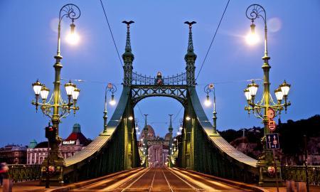 Обои Budapest, Hungary, Magyarország, Szabadság híd