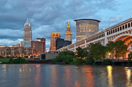 Картинки USA, Ohio, Cleveland, city