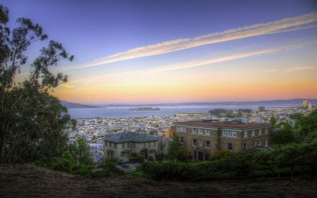 Обои San Francisco, California, usa, Alcatraz Island