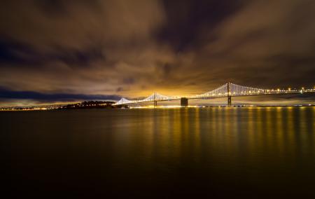 Картинки San Francisco, California, USA, Bay Bridge