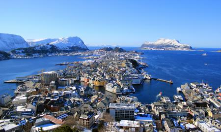 Обои Alesund, Norway, норвегия, море