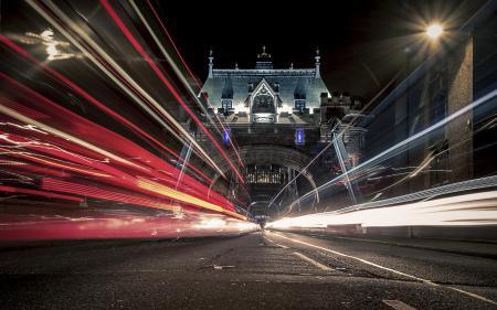 Обои London, Night, Life