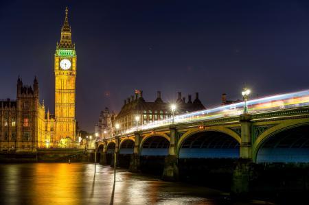 Фото London, England, Big Ben, Westminster Palace
