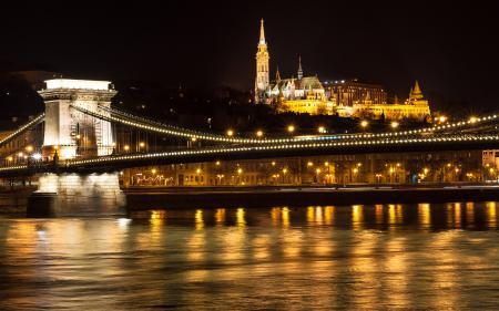 Фото Венгрия, Будапешт, мост, река