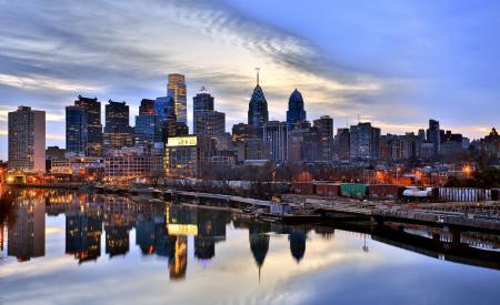Фото Филадельфия, Philadelphia, США, вечер
