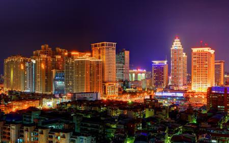 Обои Banciao, New Taipei, Taiwan, night