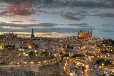 Заставки Toledo, Castilla-La Mancha, Spain, Толедо