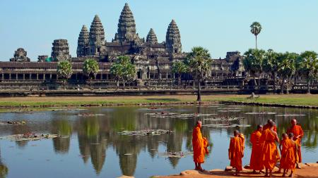 Обои древние цивилизации, Камбоджа, храм, Ангкор-Ват