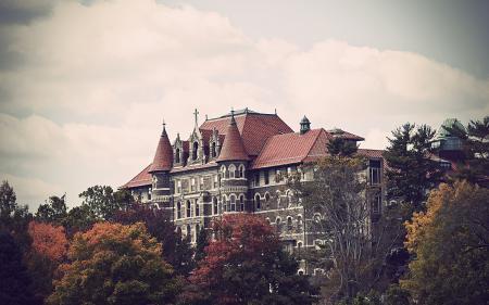 Фотографии здание, колледж, philadelphia, usa