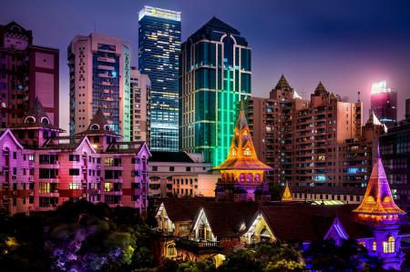 Обои Shanghai, Шанхай, Китай, Азия