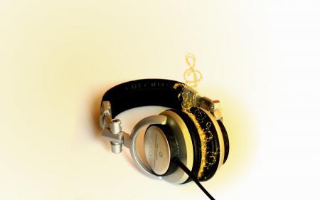 Картинки Headphone, Music, Fire