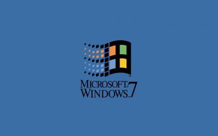 Заставки microsoft, windows, seven, logo