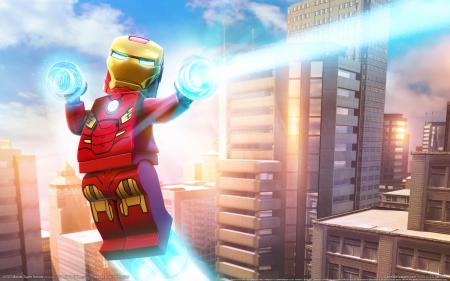 Обои LEGO: Marvel Super Heroes, game wallpapers, Iron man, Ironman