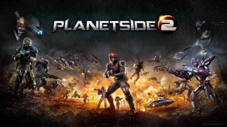 Картинки PlanetSide 2, Sony Online Entertainment, война, оружие