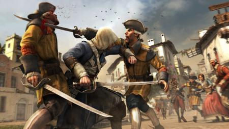 Заставки Assassin's Creed IV: Black Flag, Эдвард Кенуэй, ассасин, пират