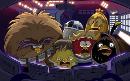 Рисунки Angry birds, Star wars, Злые птички, Звёздные войны