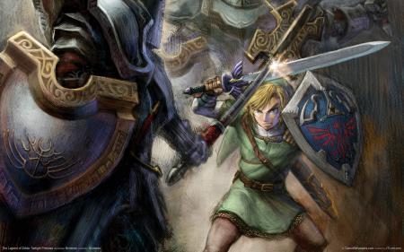 Картинки The Legend of Zelda, Twilight princess, game wallpapers, elf