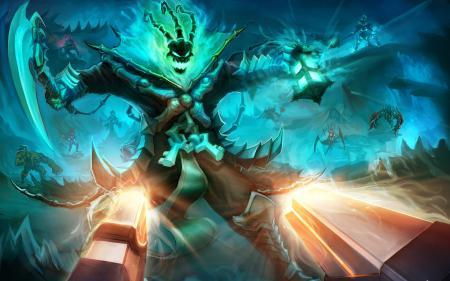 Заставки League of Legends, LoL, Thresh, герои