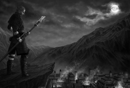 Заставки fanart, Dragon Age, Anders, маг