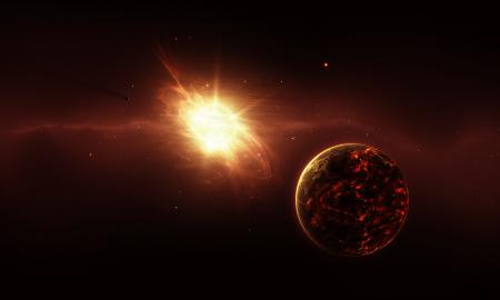 Обои genesis, энергия, свет, пространство