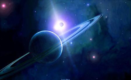 Заставки кольца планеты, большая, космос, вселенная