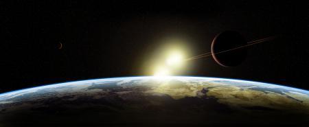 Картинки планеты, star sistem, звездная система