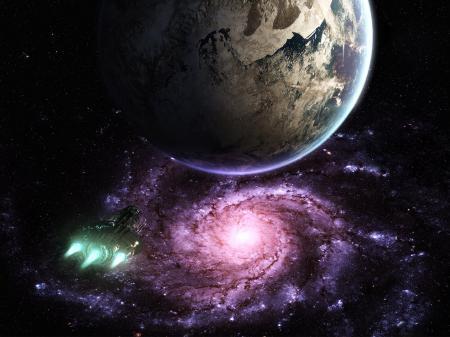Картинки Space art, Scott Richard, sci-fi, future