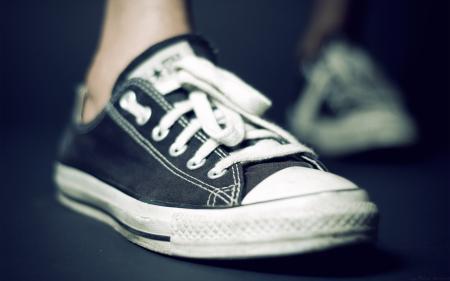 Обои ноги, обувь, макро, кеды