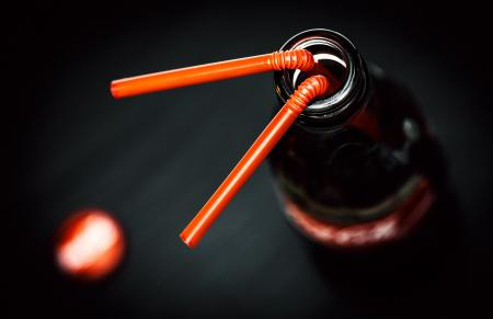 Картинки Макро, macro, бутылка, трубочка