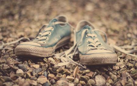 Фотографии макро, обувь, кеды, шнурки