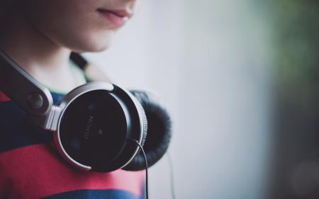 Фотографии наушники, музыка, макро