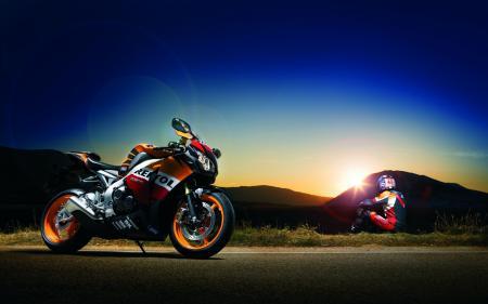 Картинки Honda, CBR, Fireblade, хонда