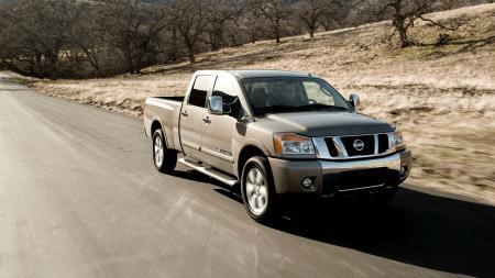 Фото Nissan, titan, пикап, offroad