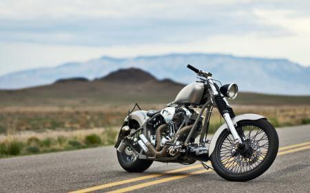 Фото ChingonVolcano, мотоцикл, дорога