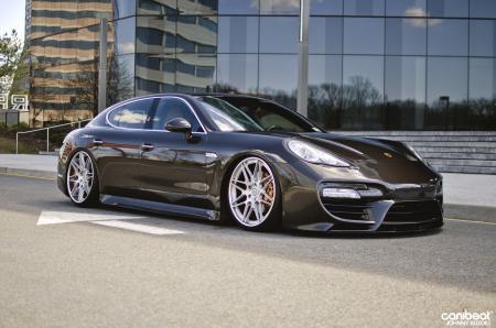 Обои Porsche, Panamera, canibeat, tuning