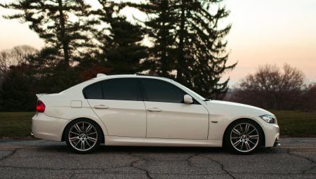 Заставки BMW, E90, white, бмв