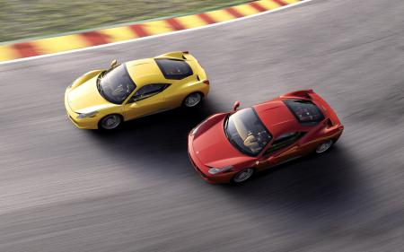 Обои Ferrari, 458, Italia, Спорткар
