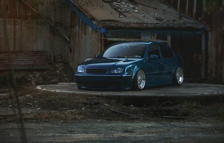 Картинки volkswagen, jetta, MK4, blue